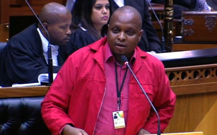 EFF chief whip Floyd Shivambu. Picture: Supplied