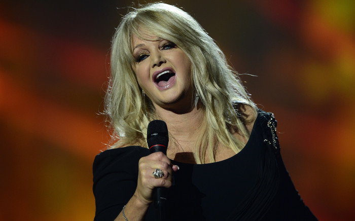 Bonnie Tyler performs during the finals of the 2013 Eurovision Song Contest on May 18, 2013. Photo: AFP.