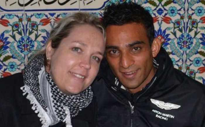 Areff Haffejee and his wife Carine - he was killed on 9 January 2013 after his R8 crashed on Oxford Road in Saxonworld. Picture: Facebook
