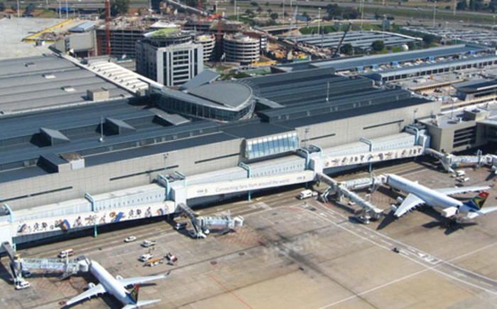 FILE. An ariel view of OR Tambo International Airport. Picture: Supplied.