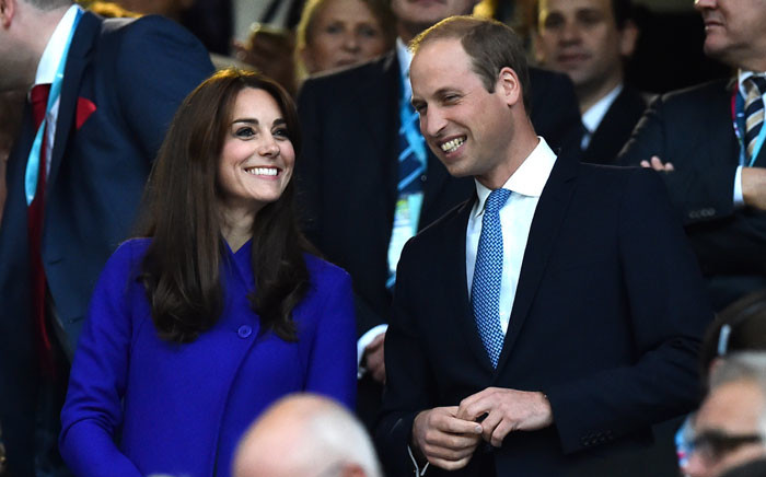 FILE: Britain's Catherine, Duchess of Cambridge (L), and Britain's Prince William, Duke of Cambridge. Picture: AFP.