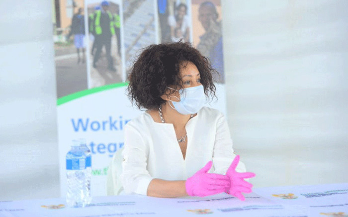 FILE: Minister of Human Settlements, Water & Sanitation Lindiwe Sisulu. Picture: GCIS.
