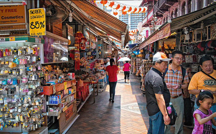 A Chinatown market in Singapore. Picture: Pixabay.com
