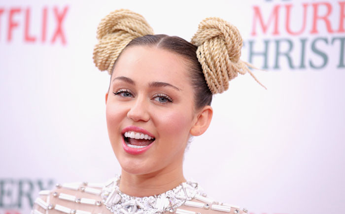 Miley Cyrus attends the 'A Very Murray Christmas' New York Premiere at Paris Theater on 2 December 2015 in New York City. Picture: Getty Images/AFP.
