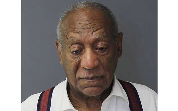 This booking photo obtained from the Montgomery County Correctional Facility in Eagleville, Pennsylvania, on 25 September 2018 shows comedian Bill Cosby after his sentencing for sexual assault. Picture: AFP.
