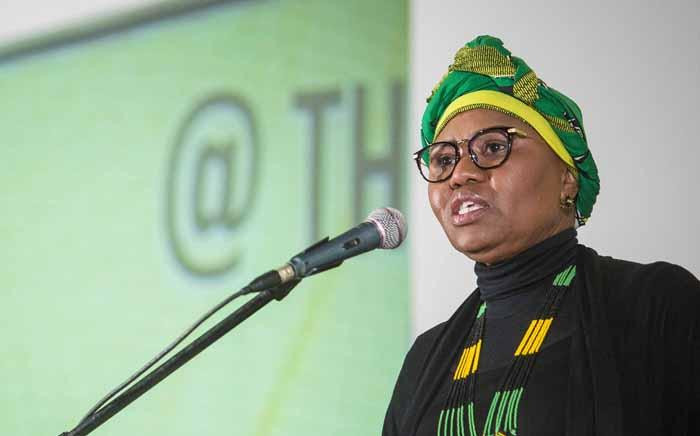Minister of Small Business Development Lindiwe Zulu at the ANC national policy conference at Nasrec on 2 July 2017. Picture: Thomas Holder/EWN.