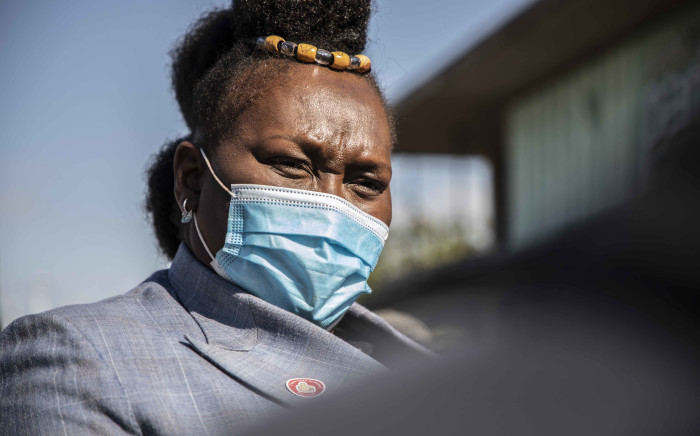FILE: KwaZulu-Natal Health MEC Nomagugu Simelane-Zulu at the vaccination site by Moses Mabhida Stadium in KwaZulu-Natal. Picture: Abigail Javier/Eyewitness News