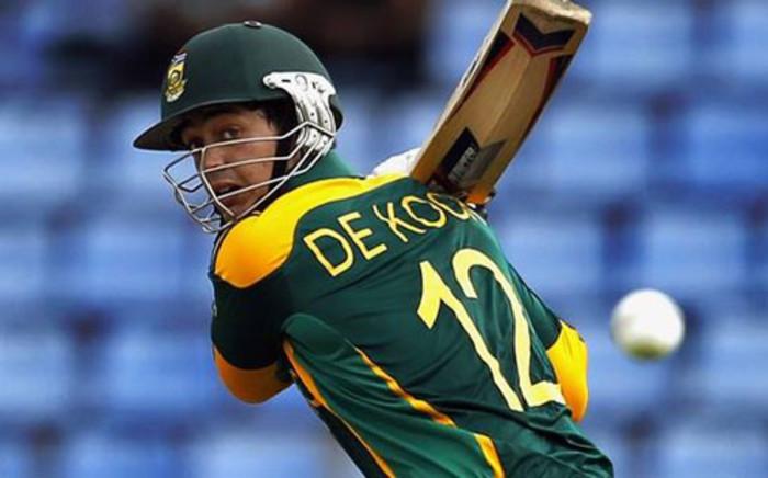 Proteas batsman Quinton de Kock. Picture: Facebook.