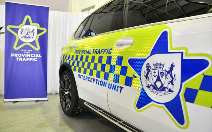 Patrol vehicles have been fitted with technology that can identify offenders. Picture: @MadikizelaBongz/Twitter