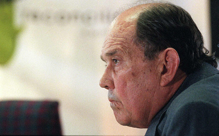 Former Defence Minister Magnus Malan at the Truth And Reconciliation Commission (TRC) in Cape Town on 7 May 1997. Picture: AFP
