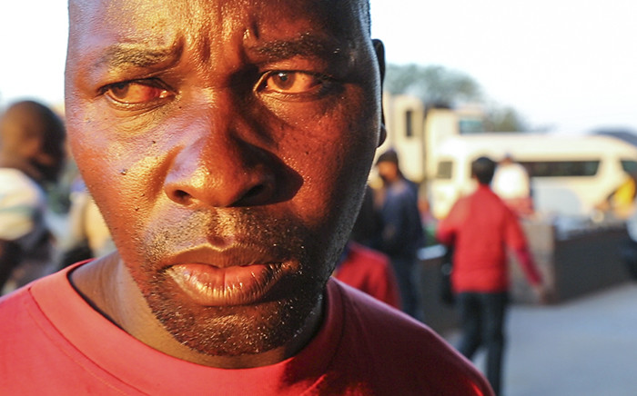 Jerimiah Sithole, brother-in-law of Emmanuel Sithole, the murder victim of the xenophobic attack on April 18, 2015 in Alexandra, Johannesburg, speaks about how much his family will miss him. Picture: Thomas Holder/EWN