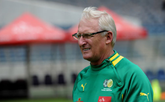 Bafana Bafana coach Gordon Igesund is seen at a training session at the Orlando Stadium in Soweto on 11 January 2013. Picture: SAPA