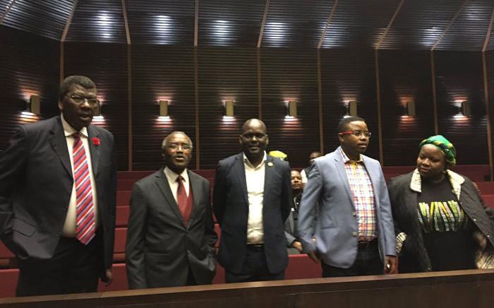 The KwaZulu-Natal ANC leadership. Picture: Ziyanda Ngcobo/EWN.