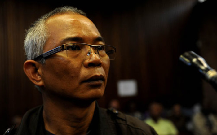 Thai national Chumlong Lemthongthai appears in the Kempton Park Magistrate's Court on Friday, 20 January 2012.Picture: Werner Beukes/SAPA
