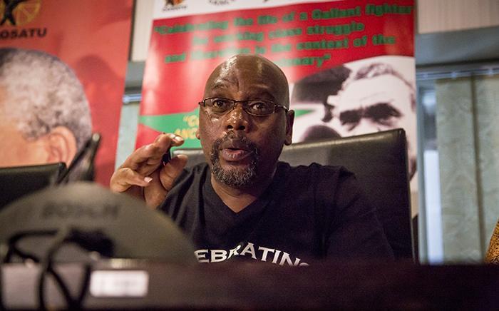 FILE: Cosatu president Sdumo Dlamini. Picture: EWN