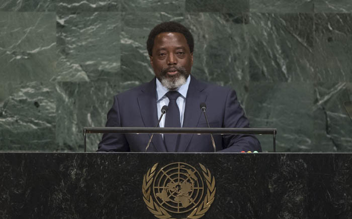 President of the Democratic Republic of the Congo Joseph Kabila. Picture: United Nations Photo