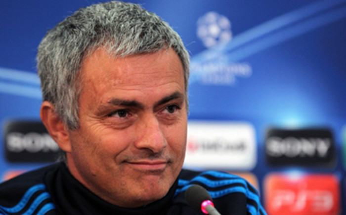 Real Madrid coach Jose Mourinho. Picture: AFP
