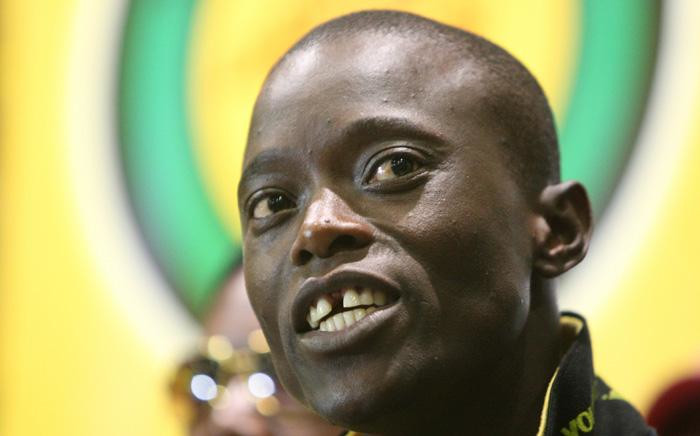 FILE: ANCYL secretary Sindiso Magaqa at a press conference at Luthuli House on 5 March 2012. Picture: Gallo Images/Sowetan/Antonio Muchave