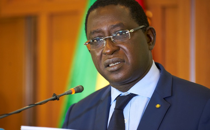 FILE: In this file photo taken on August 17, 2018 Malian opposition leader Soumaila Cisse delivers a speech during a press conference, in Bamako, on the eve of the official results of Mali's presidential election. Picture: AFP