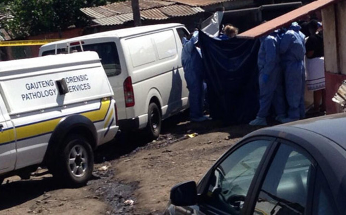 Two toddlers were found murdered in Diepsloot on Tuesday. Picture: Lesego Ngobeni/EWN