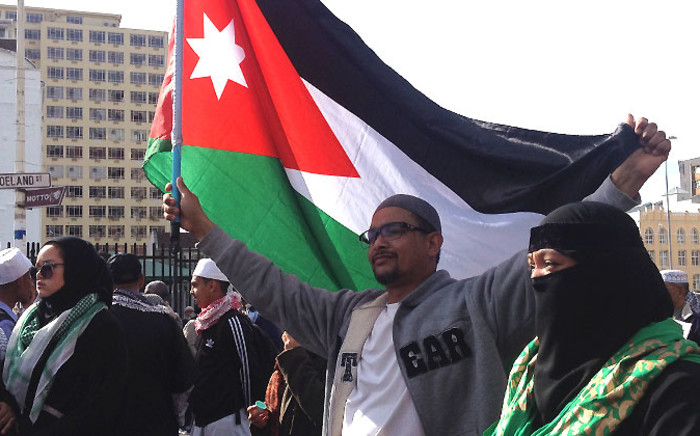FILE: Pro-Palestinian protersters marched through the streets of Cape Town in support of the Palestinian nation on 16 July 2014. Picture: EWN.