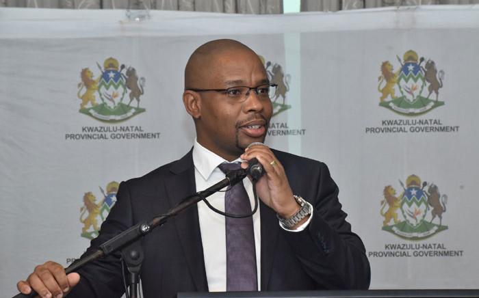 Acting MEC for Transport, Community Safety and Liaison in KwaZulu-Natal Kwazi Mshengu. Picture: @kzngov/Twitter