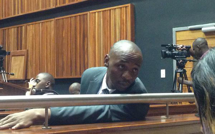 Former DJ, Donald Sebolai has been found guilty of killing his girlfriend, Dolly Tshabalala in June of 2014. Picture: Mia Lindeque/EWN.