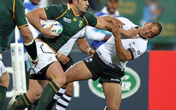 Bismarck du Plessis is expected to start against the Wallabies on Saturday. Picture: Supplied