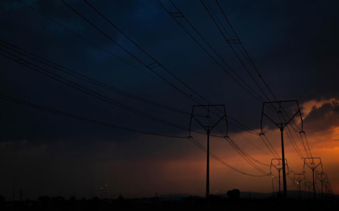Electrical pylons. Picture: Sethembiso Zulu/EWN.