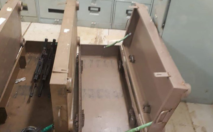 The SA National Defence Force (SANDF) has confirmed that weapons have been stolen from its Lyttleton TEK base in Pretoria. Picture: Supplied
