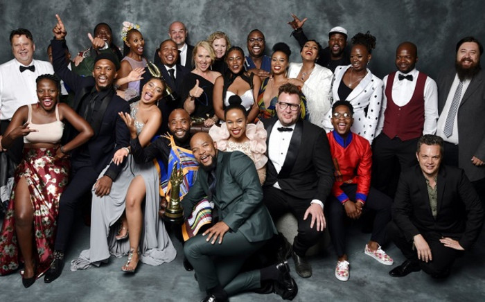The cast of Mzansi Magic's 'The River' at the 13th Saftas that took place on 03 March 2019. Picture: @Saftas1/Twitter
