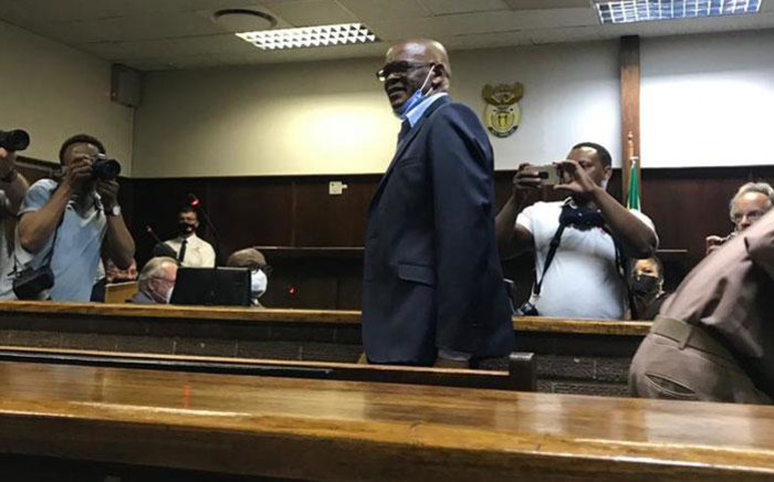 ANC secretary-general Ace Magashule appearing at the Bloemfontein Magistrates Court on 13 November 2020. Picture: NPA