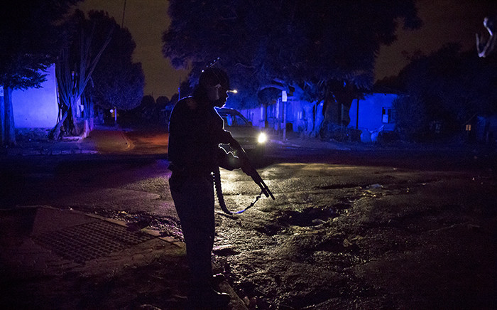 Police had their hands full in Johannesburg in the latest flare-up of xenophobic violence in mid-April 2015. Picture: Thomas Holder/EWN