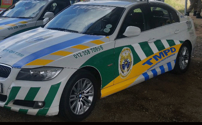 A Tshwane Metro Police Department (TMPD) vehicle. Picture: @TMPDSafety/Twitter.