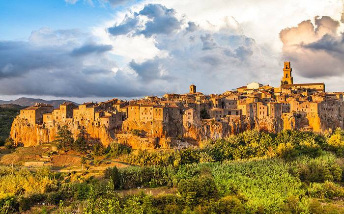 The town of Pitigliano in Tuscany's Maremma region. Picture: Shutterstock.