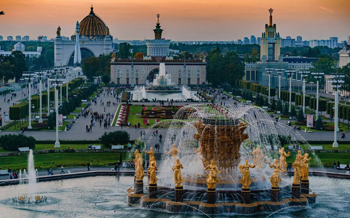 Moscow's VDNKh. Picture: @moscowgov/Twitter