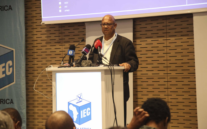 IEC Western Cape head Courtney Sampson briefs the media at the Western Cape Results Centre on 09 May 2019. Picture: Cindy Archillies/EWN