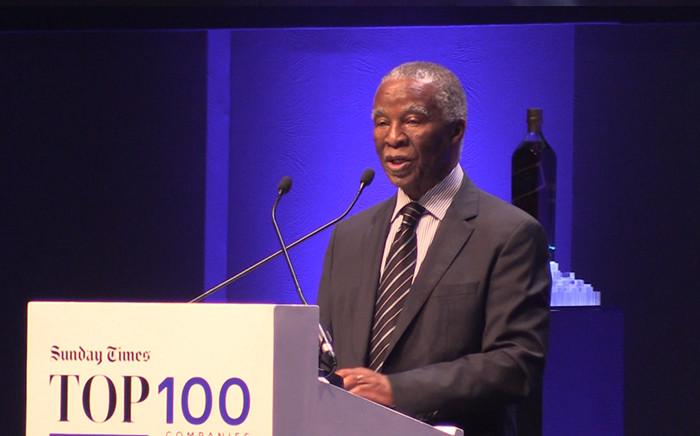 FILE: Former President Thabo Mbeki. Picture: Kgothatso Mogale/EWN
