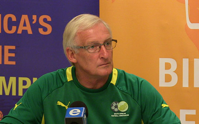 Bafana coach Gordon Igesund could offer no excuses for Bafana's group stage elimination. Picture: EWN Sport