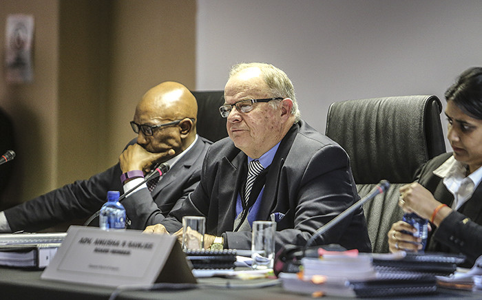 Judge Neels Claassen heads the commission of inquiry into suspended National Police Commissioner Riah Phiyega's fitness to hold office. Picture: Reinart Toerien/EWN.