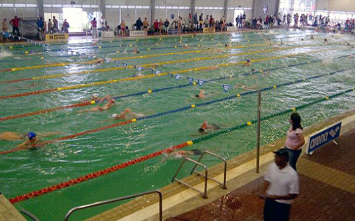 The green pool at the SA Nationals in Port Elizabeth. Picture: Jean Smyth/EWN