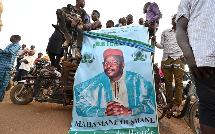 Supporters attend a campaign rally of Niger's former president and presidential candidate Mahamane Ousmane on Febuary 19, 2021 in Niamey, two days ahead of Niger's election runoff. Picture: Issouf Sanogo / AFP.