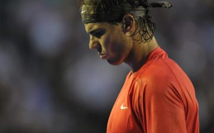 World number two Rafael Nadal. Picture: AFP.