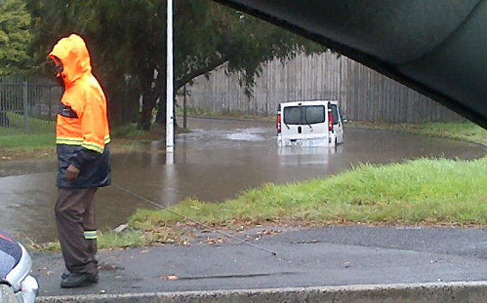 FILE: The N1 Highway through Laingsburg is flooded due to an overflowing river.. Picture: iWitness/@ek_capetown