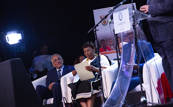 FILE: Minister of Basic Education Angie Motshekga announces the national matric 2018 results. Picture: Kayleen Morgan/EWN