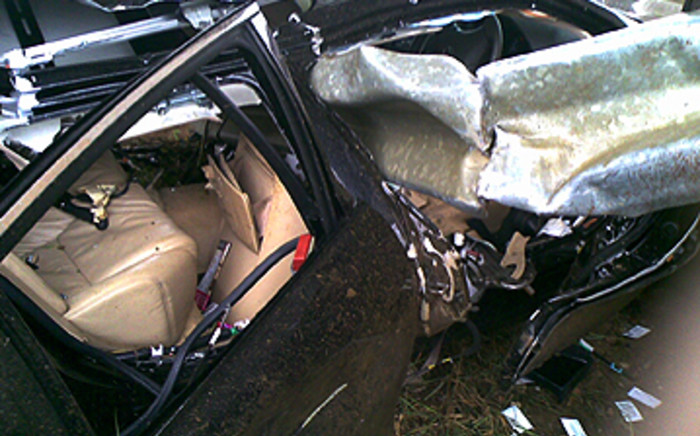Netcare 911's Santi Steinmann says one person survived the accident.