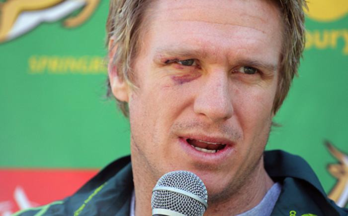 Springbok and Stormers captain Jean de Villiers. Picture: Taurai Maduna/EWN