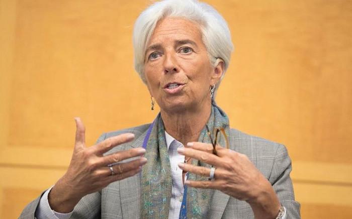 FILE: Former International Monetary Fund (IMF) managing director Christine Lagarde. Picture: @Lagarde/Twitter