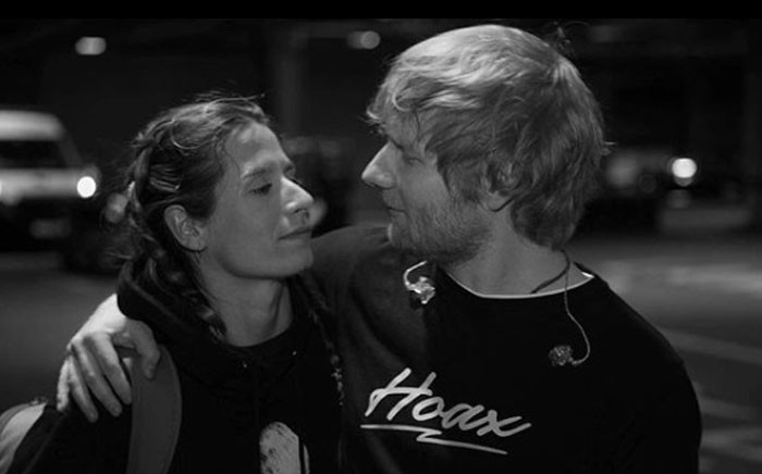 Ed Sheeran and Cherry Seaborn have tied the knot, according to reports. Picture: @teddysphotos/instagram