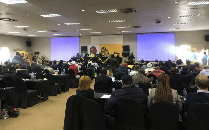 The ANC national executive committee (NEC) members met in Pretoria ahead of the governing party's lekgotla. Picture: Clement Manyathela/EWN.